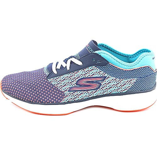 Skechers Performance Womens Go Sport Walking Scarpe Navy / Aqua, Navy