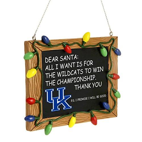 Kentucky Wildcats Ornaments - Kentucky Wildcats Chalkboard Ornament