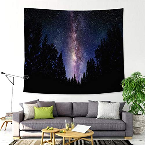 Guoshang Starry Sky Printing Wall Hanging Tapestry Wall Art Tapestry Decor for Home Bedroom Livingroom Studio,4# (Art Gordmans Wall)