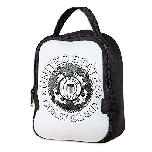 - Neoprene Lunch Bag US Coast Guard Semper Paratus Emblem