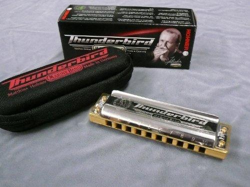 【ブルースハープ】HOHNER Marine Band Thunderbird 2011 [Key:Low-F] B00A2M1FBO LF LF