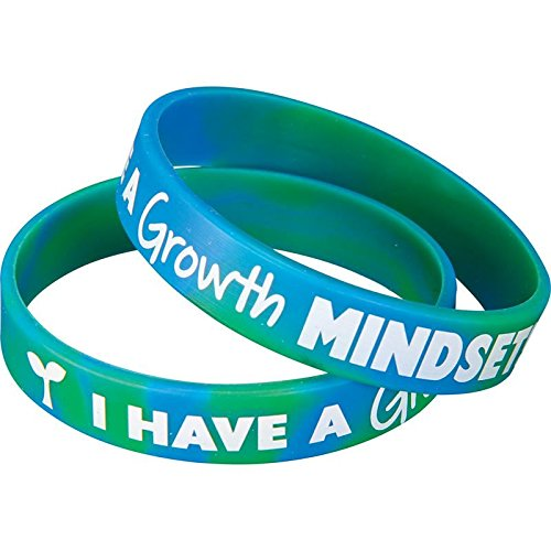 Really Good Stuff Growth Mindset Silicone Bracelets