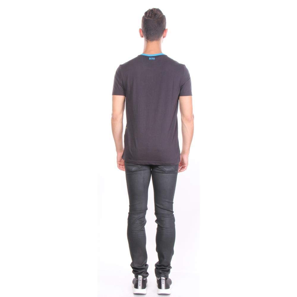 Hugo Boss Graphic Print T-Shirt Teeonic Black 50404534 001