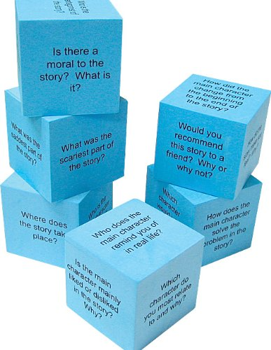 Teacher Created Resources 20634 Foam: Reading Comprehension Cubes