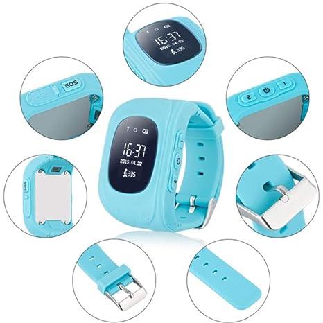Reloj localizador GPS para niños niñas GEOKID TEKNON Listo para Usar, sin Tener Que Montar