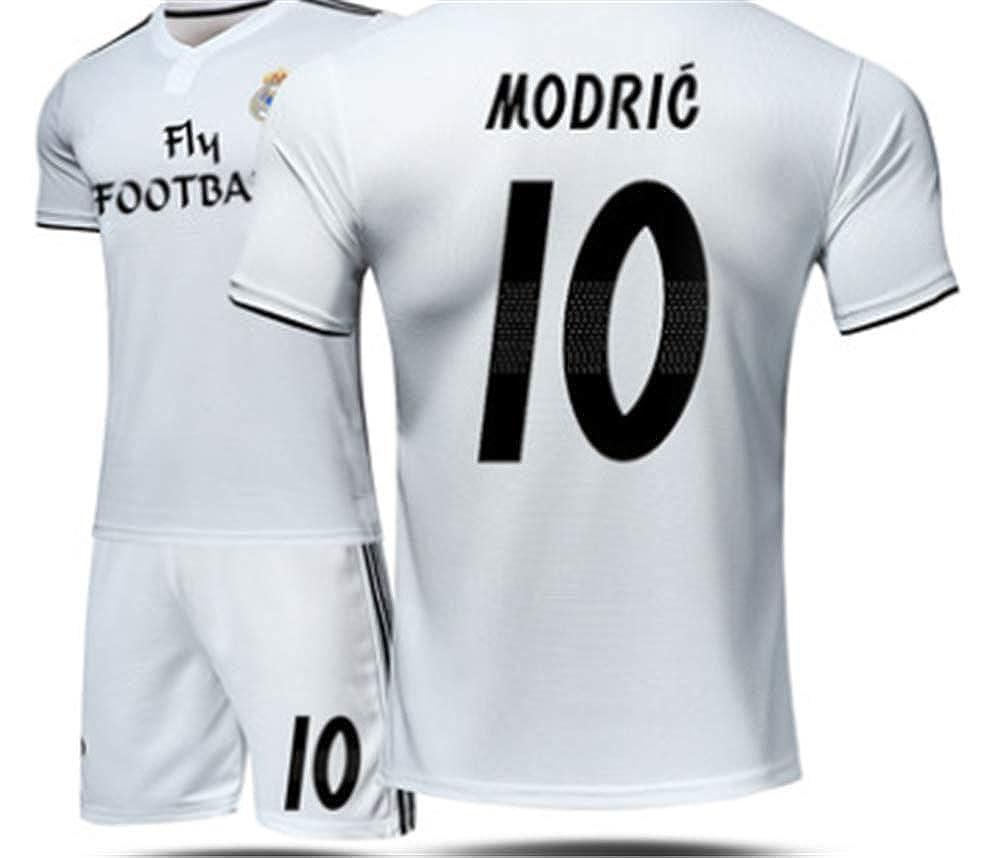 buy popular 4845d 6ed9e LISIMKE Real Madrid Home Luka Modric #10 Jersey 2018/2019 ...
