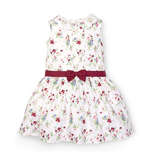 Hope & Henry Girls' Floral Drop Wasit Dress Size 18-24 Months -