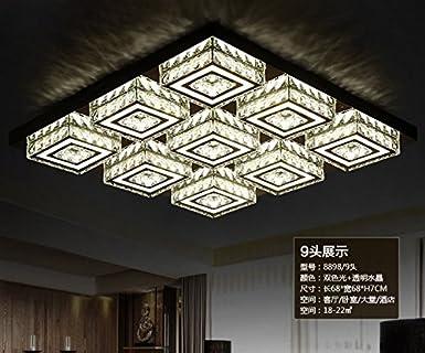 Moderne Lampen 68 : Bfdgn moderne und minimalistische led deckenleuchte crystal light