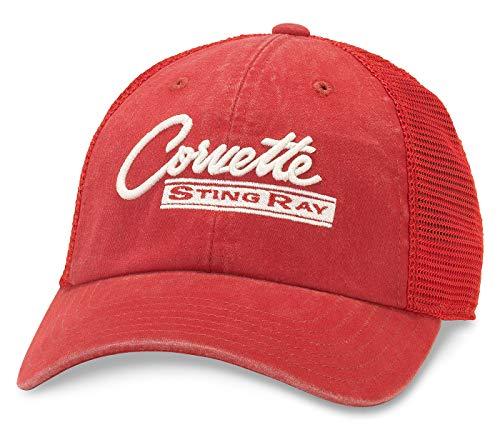 (American Needle Raglan Bones Corvette Sting Ray Trucker Hat)