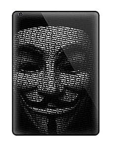 Cute High Quality Ipad Air Anonymous Mask Case