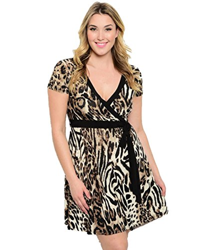 cheetah babydoll dress - 4