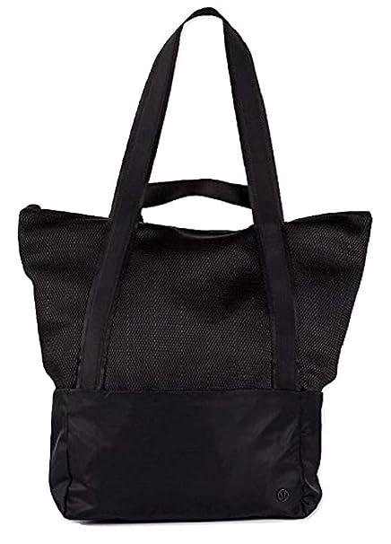 Lululemon caliente malla bolsa - 3734205, Negro: Amazon.es ...