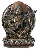 Sarasvati Collectible Figurine Statue Sculpture Figure Buddha Buddhism