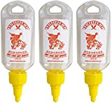 Sriracha Mini Hot Sauce Keychain Bottle 3-Pack, 1.69oz (Shipped Empty)