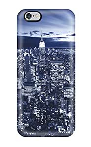 Colleen Otto Edward's Shop New Style 7814341K83417423 Case Cover Protector Specially Made For Iphone 6 Plus New York In Blue