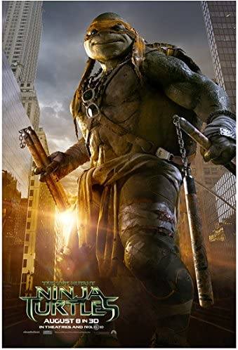 Teenage Mutant Ninja Turtles Out Of The Shadows 2016 Photo 8 Inch X 10 Inch Photograph Michelangelo From Ankles Up Title Poster Kn At Amazon S Entertainment