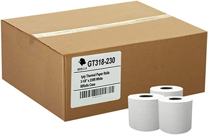 8700 Thermal 50 Rolls//box BPA Free Made in USA From BuyRegisterRolls. Micros 3700 3 1 8 x 230 Thermal Paper Rolls MICROS TM-T88