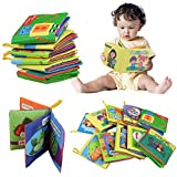 KOKOBUY Baby Early Learning Book Intelligence Development Cloth Cognize Fabric Book Educational Cloth Book Toys