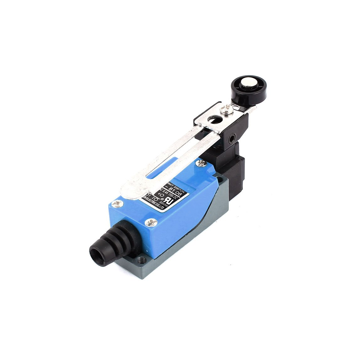 uxcell ME-8108 Adjustable Roller Lever Mini Limit Switch 2NO 2NC AC250V 5A DC115V 0.4A