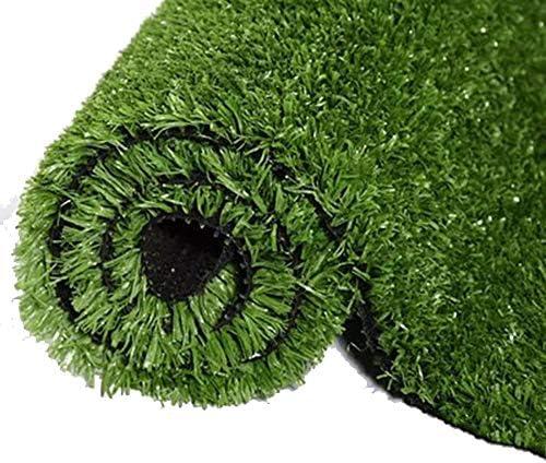 YNGJUEN 人工芝ドアマット、人工芝カーペットドアマット屋内外のペットの犬の芝生マットのゴム製排水口の穴 (Size : 2x3m)