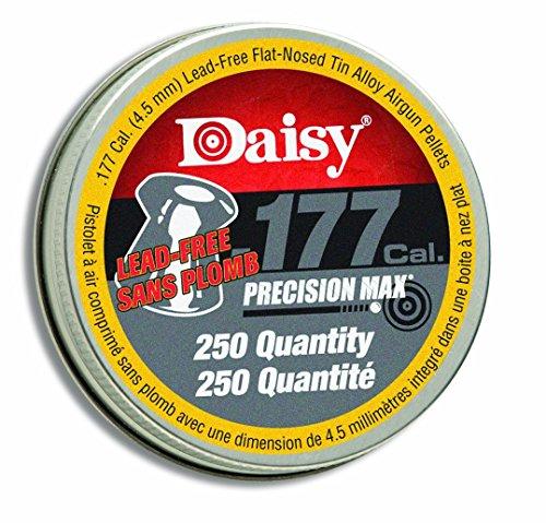 Daisy Ammunition and CO2 250 .177 Cal. Flat Pellets-250Tin