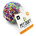 Pet Craft Supply Yowlin' Yarn Multi Color Yarn Large Ball with Rattle Cat Toy