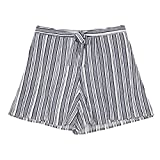 Amy Byer Big Girls' Flyaway Shorts, Sea Navy, XL