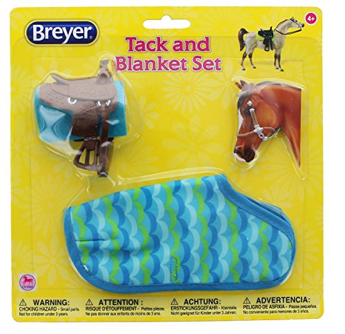 Breyer Classics Toy Saddle Set and Blanket Asst.