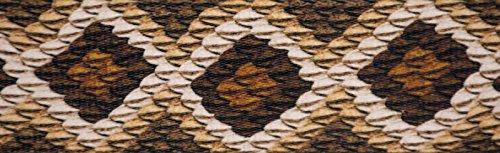Country Brook Design 3/4 Inch Rattlesnake Polyester Webbing, 5 Yards