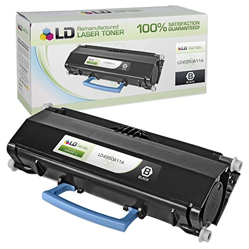 LD Remanufactured Toner Cartridge Replacement for Lexmark E Series E250A11A (Black)