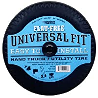 Marathon Industries 00210 Universal Fit Hand Truck/Utility Tire, 2-1/4-Inch Offset Hub Length, 5/8-Inch Bearings, Spacer/Bushing Kit Included