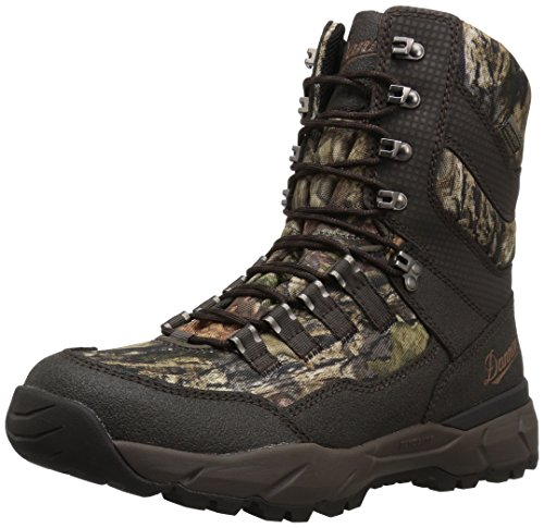 400g Insulated Boots Waterproof (Danner Men's Vital Insulated 400G Hunting Shoes, Mossy Oak Break Up Country, 10 2E US)