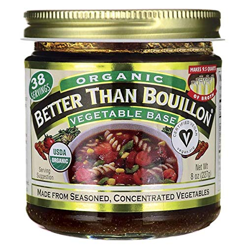 Better Than Bouillon Organic Vegetable Base, Vegan, 8 Ounce