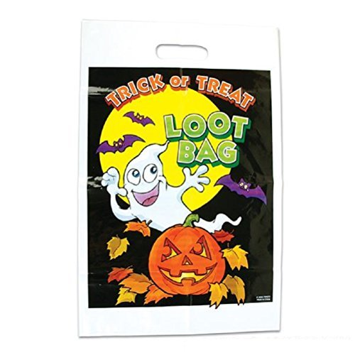 "Halloween Loot Goody Bag 50 Pieces Per Set. ""Cool Hand (Candy Land Halloween Costume)"
