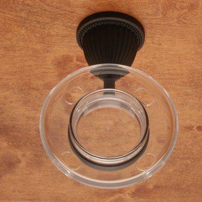Beaded Base Tumbler Holder - BE Series Beaded Bell Base Tumbler Holder Finish: Oil Rubbed Bronze