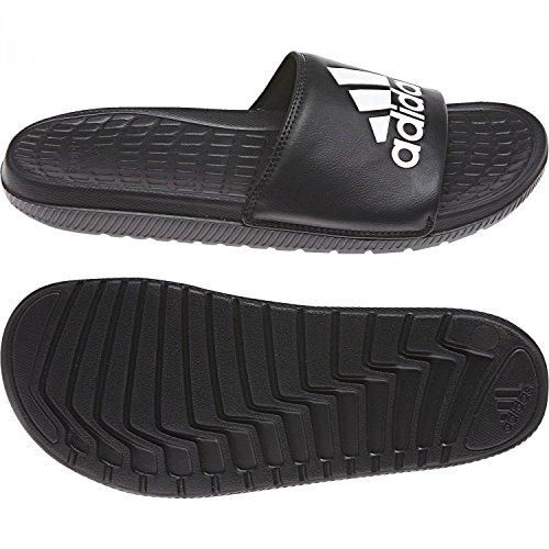adidas Voloomix, Zapatos de Playa y Piscina Para Hombre, Negro (Negbas/Ftwbla/Negbas 000), 40 2/3 EU