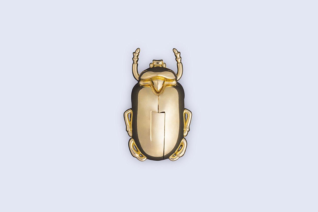 Doiy Insect Wine Bottle Corkscrew (Gold) by DOIY (Image #1)