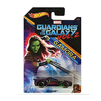 Hot Wheels 2017 Guardians of the Galaxy 1:64 Vol. 2 (Scorcher (Gamora))