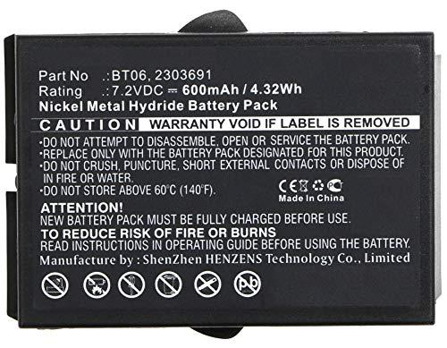 Synergy デジタルバッテリー IKUSI TM61リモコンバッテリー対応 (Ni-MH、7.2V、600mAh) - レプリカ。 IKUSI 2303691 バッテリー   B07H41MFTB