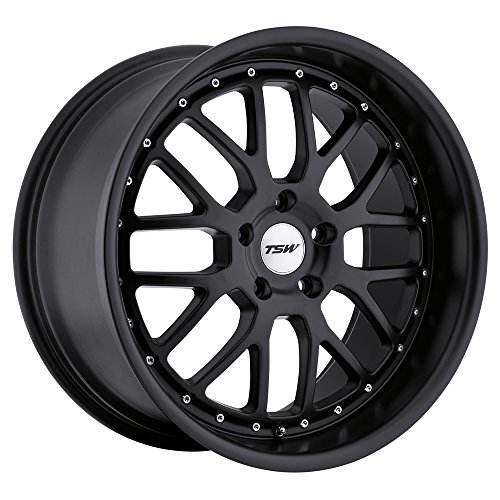 TSW VALENCIA 19x9.5 5/120 ET20 CB76.1 MATTE BLACK for sale  Delivered anywhere in USA