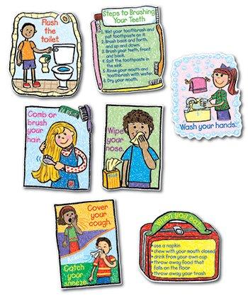 Bb Set Hygiene Kid-Drawn - Kid Drawn Bb Set