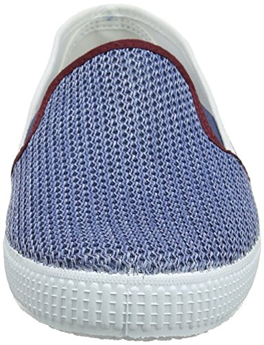 Victoria Gris Mixte Adulte on Jeans Tricolor Slip Rejilla Baskets OOUqPFCw