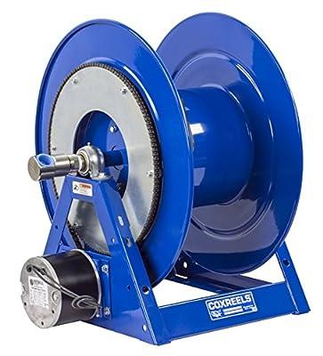 "Coxreels 1175-6-50-A Compressed Air Motor Rewind Hose Reel: 1"" I.D., 50' hose capacity, less hose, 3000 PSI"