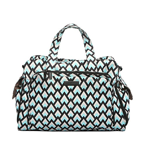 Ju-Ju-Be Onyx Collection Be Prepared Diaper Bag, Black Diamond