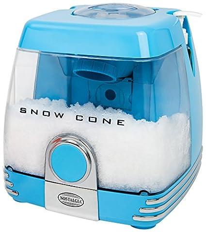 Nostalgia SC7BL Snow Cone Machine, Blue - Party Machine