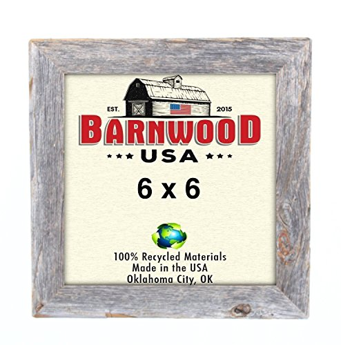 BarnwoodUSA Rustic Photo Frames 1 1/2 Inch Wide - 100% Recla