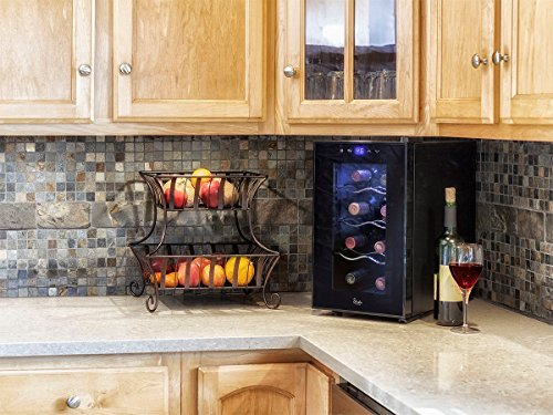 MonopriceStrata Home 8 Bottle Compact Thermoelectric Wine Cooler by Monoprice (Image #5)
