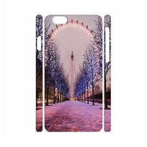 Designed Ferris Wheel Style Durable Hard Plastic Phone Skin for Iphone 6