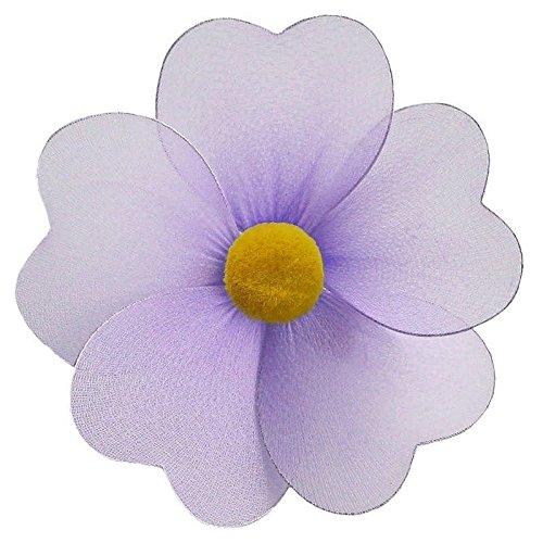 Olivia Flower Decoration Purple 5 3D Hanging Mesh Nylon DŽcor for Baby Nursery Room, GirlÕs Bedroom, Wall, Ceiling, Wedding, Birthday Party