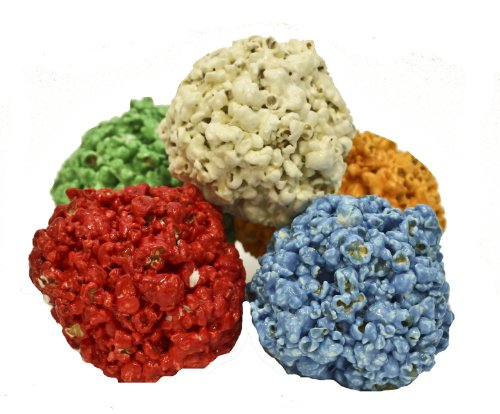 flavored popcorn balls - 4